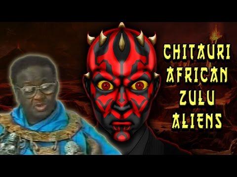 Chitauri African Zulu Aliens