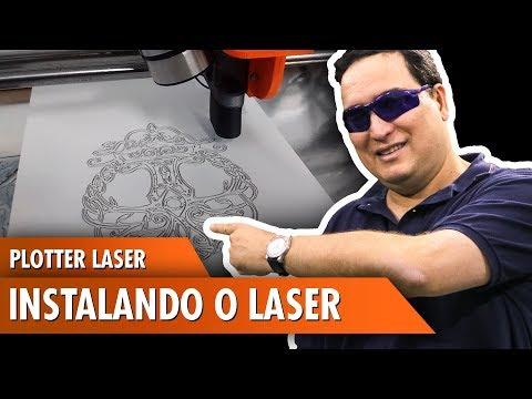 Plotter Laser: Instalando o Laser