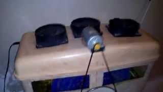 Принцип работы увлажнителя очистителя воздуха (доработка)