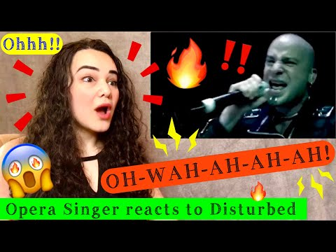 Opera Singer Reacts to Disturbed - Down With The Sickness [Official Music Video]