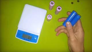 Аккумулятор 18650 LiIon. Сравнение китайского и японского аккумуляторов.