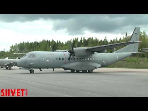 FiAF CASA C-295 arrival