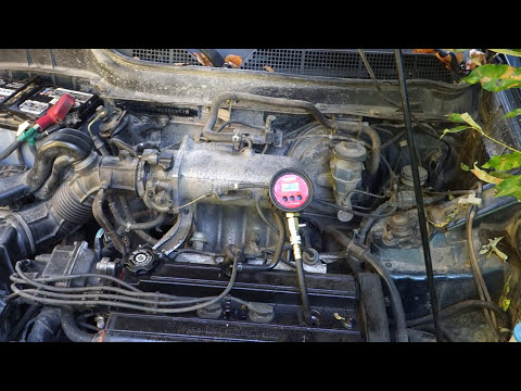 How to do Honda, Toyota, Nissan engine compression test and look results
