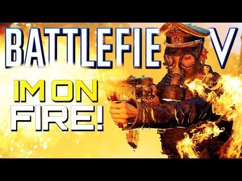 Battlefield V: I'm on Fire! (Battlefield 5 Multiplayer Gameplay) thumbnail