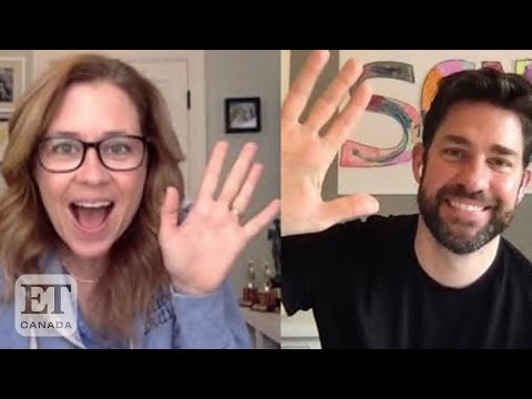 Jenna Fischer, John Krasinski Reveal 'The Office' Secrets