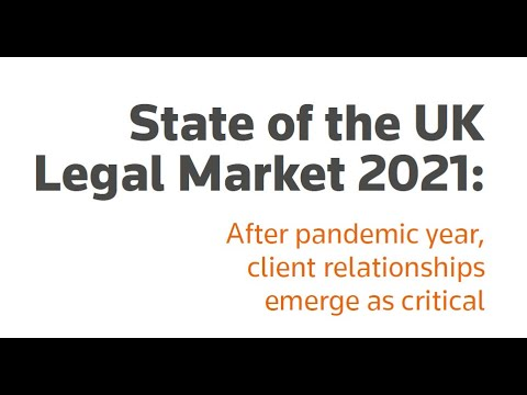 State of the UK Legal Market 2021
