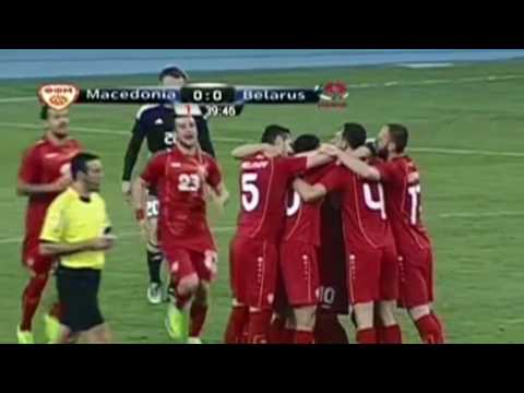 Macedonia - Belarus 2-0 Goals and Highlights 28/03/2017