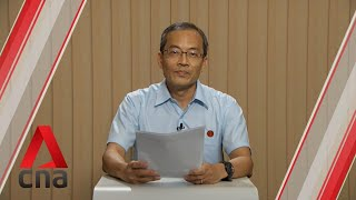 Ge2020: Wp Candidate For Hougang Smc Speaks In Constituency Political Broadcast, Jul 4