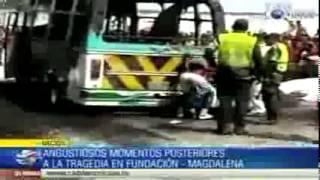 Repeat youtube video Angustiosos momentos posteriores a la tragedia en Fundacin