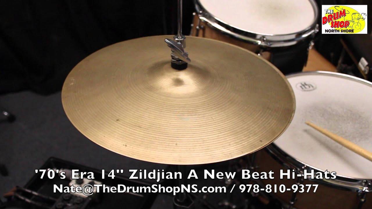 39 70 39 s era zildjian a new beat hi hats 14 39 39 the drum shop north shore youtube. Black Bedroom Furniture Sets. Home Design Ideas