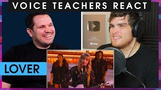 Voice Teachers React Taylor Swift - Lover (Live)
