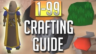 [OSRS] In-Depth 1-99 CRAFTING Guide (2018 Best Methods)