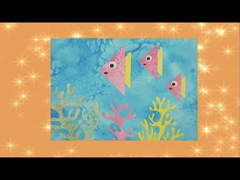 Salty Fish Sea Picture 🐟   Mister Maker 🎨