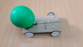 How to Make a Simple Balloon Powered Toy Car: Toys for Kids