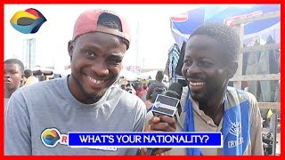 WHAT'S YOUR NATIONALITY?   Street Quiz   Funny Videos   Funny African Videos   African Comedy