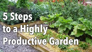 How To Plan A Highly Productive Garden