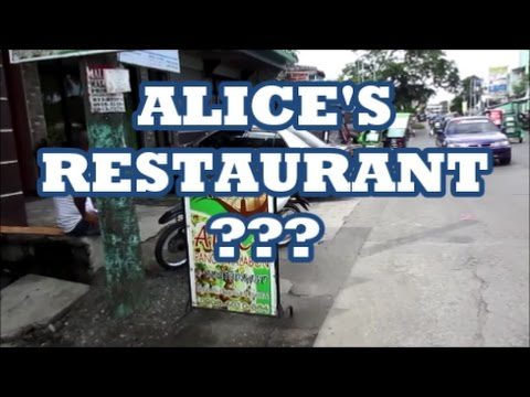 ALICE'S RESTAURANT???