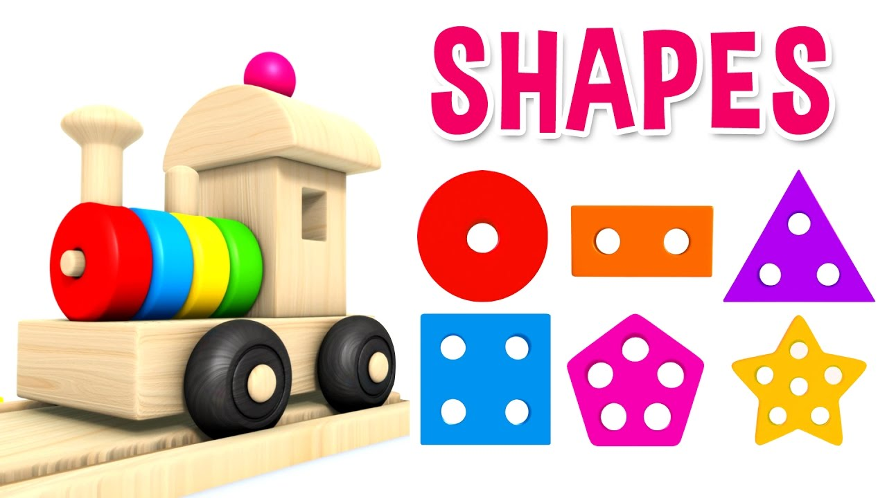 Learn Shapes with Preschool Toy Train - Learning Shapes Videos for ...