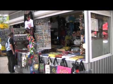Shopping for Souvenirs in Kiev, Ukraine