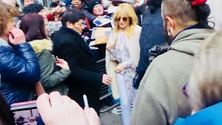 Kylie Minogue in London 24 02 2018 (1)