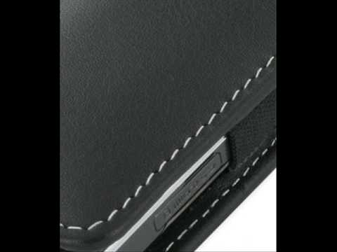 PDair Leather Case for Samsung SGH-L700 - Vertical Pouch Type Belt clip included (Black)