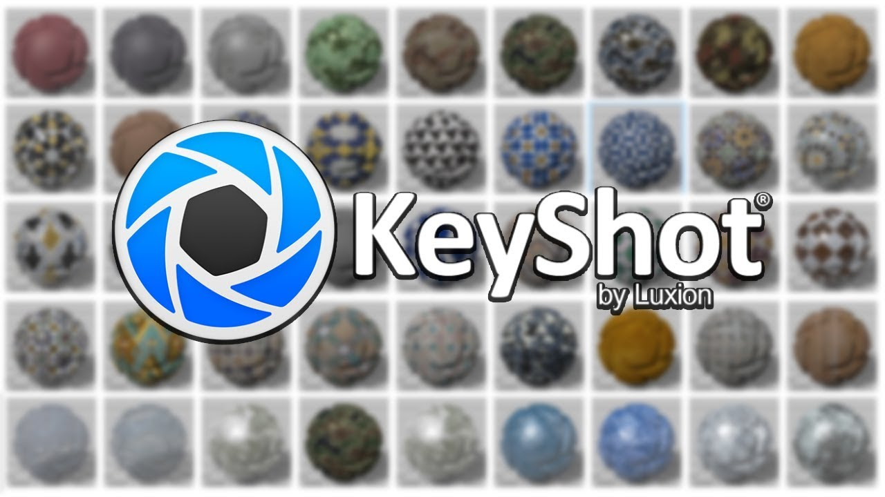 Keyshot 7 test + Materials, Textures and HDRI pack