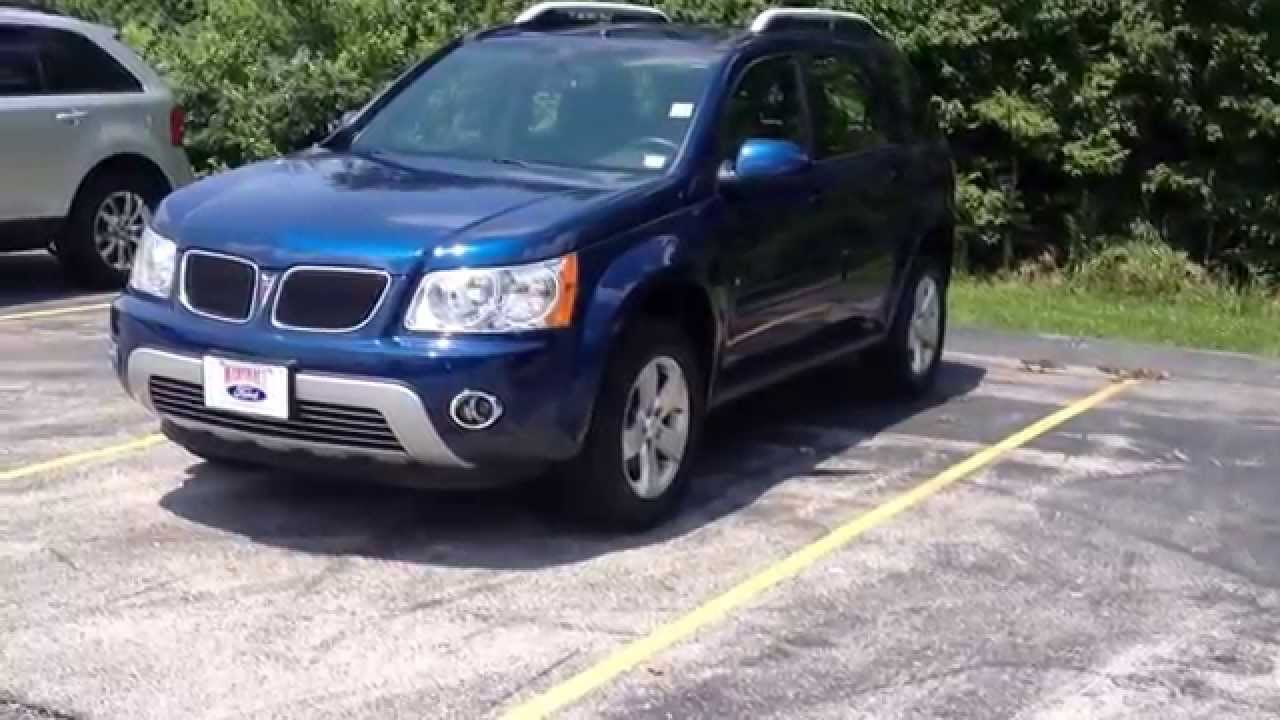 2008 pontiac torrent used crossover suv for sale marshall ford o 39 fallon missouri youtube. Black Bedroom Furniture Sets. Home Design Ideas
