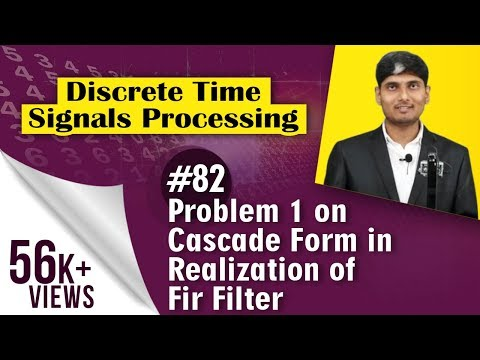 Problem 1 on Cascade Form in Realization...