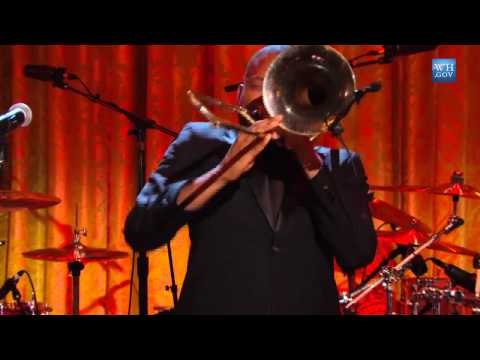 """Trombone Shorty Performs """"St. James Infirmary"""" at In Performance"""