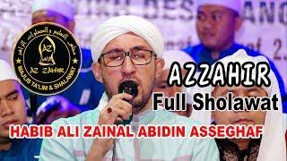 AZZAHIR FULL SHOLAWAT  HABIB ALI ZAINAL ABIDIN ASSEGHAF PART 1