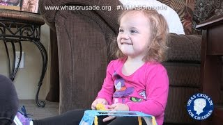 Crusade provides in-home therapy for child wi...