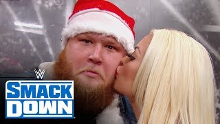 Mandy Rose gifts Otis a Christmas kiss: SmackDown, Dec. 20, 2019