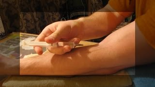 Внутривенная инъекция в домашних условиях | Intravenous injection at home