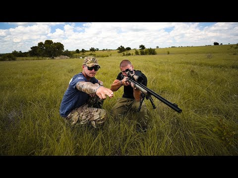 Shooting a GOPRO With a SNIPER Rifle!! (ft. LunkersTV)