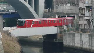 東京メトロ丸ノ内線2000系試運転 神田川橋梁通過