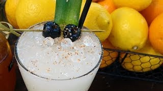No-blend Piña Colada Cocktail Recipe | Happiest Hour