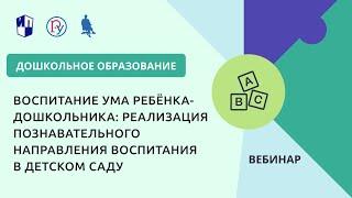 Воспитание ума ребёнка-дошкольника: реализация познавательного направления воспитания в детском саду