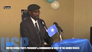 USP: United Somali Party_ President and Commander in Chief of the Armed Forces of USP