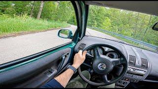 2000 Volkswagen Lupo | 1.4 75 HP | POV Test Drive