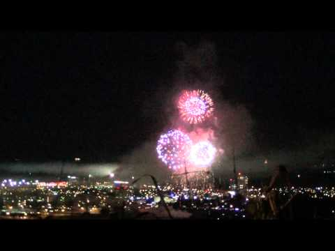 50th Independence Fireworks - Queen's Park Savannah, Port of Spain