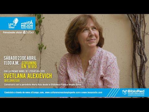 Svetlana Alexievich en entrevista con Marta Ruiz