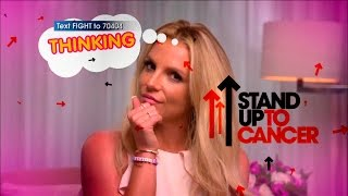 Seven Easy Things with Britney Spears - 'Stand Up To Cancer' (Promo)