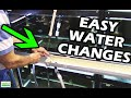 "How To Do Water Changes in your Aquarium Fish Room. ""Gary Don't Carry"""