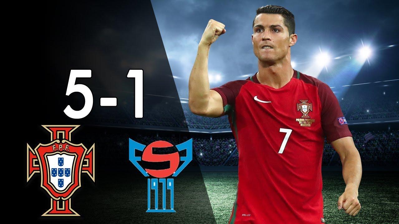 Download Portugal vs Faroe Islands 5-1 - Highlights & Goals - Qualfication World Cup 2018 31/08/17 - HD