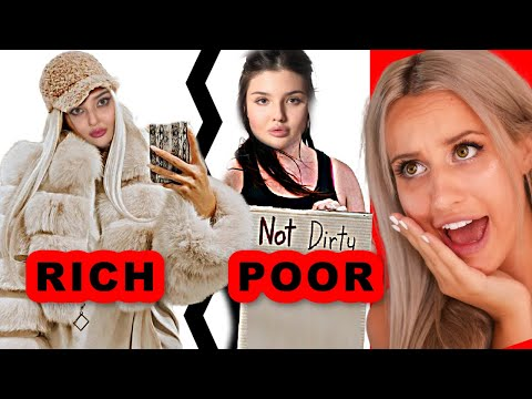 RICH GIRL tries BEING POOR (SHE THINKS POOR PEOPLE ARE LIKE DIRT!!)