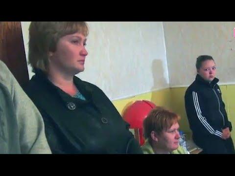Попавшие в плен десантники на украине