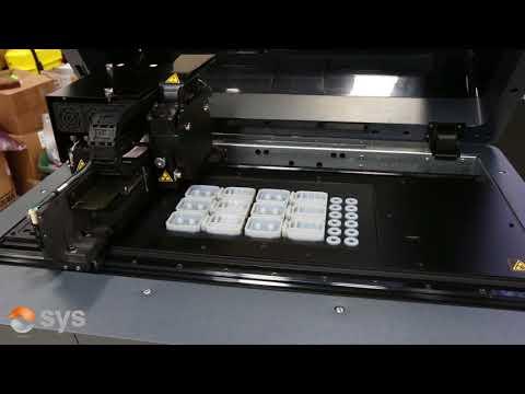 3D Printing Time Lapse - Stratasys Polyjet Printer