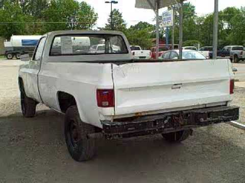 86 Chevy Military Pickup Truck NAVY SOLD