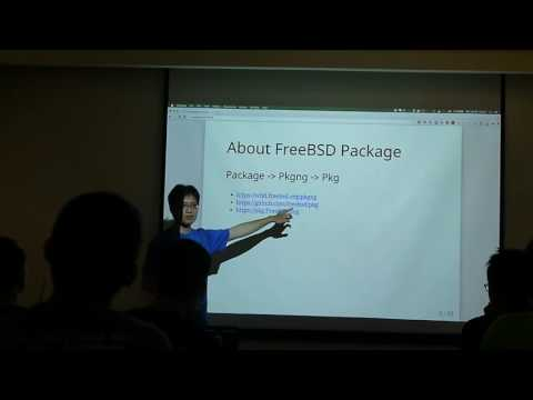 FreeBSD Day Taiwan 2016 - The FreeBSD ports and pkg system, developer's perspective Part1