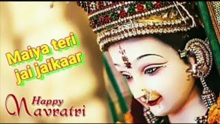 Tera Darsh Yaha Bhi Hai Tera Darsh waha bhiNavaratri special WhatsApp status video king of Status